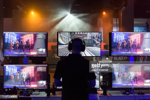 Atmosphere during Day Three at Call of Duty World League Finals 2019 at the Miami Beach Convention Center on July 21, 2019 in Miami, Florida.