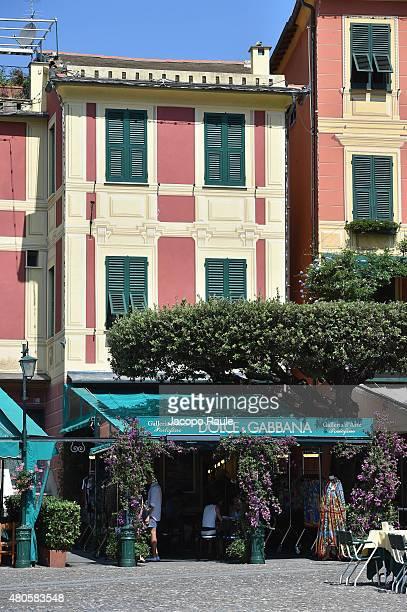 Atmosphere during DolceGabbana Haute Couture Fall/Winter 2015/16 Presentations In Portofino on July 12 2015 in Portofino Italy
