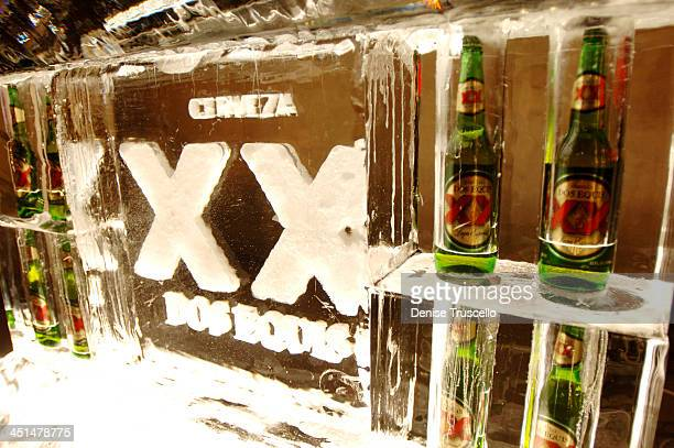 Atmosphere during Dos Equis Goes Bare at Bare Poolside Lounge at The Mirage Hotel and Casino Resort at Bare Poolside Lounge at The Mirage Hotel and...