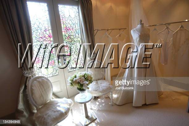 Atmosphere during Dr Phil's Son Jay McGraw and Erica Dahm Wedding Photos at Private Home in Beverly Hills California United States
