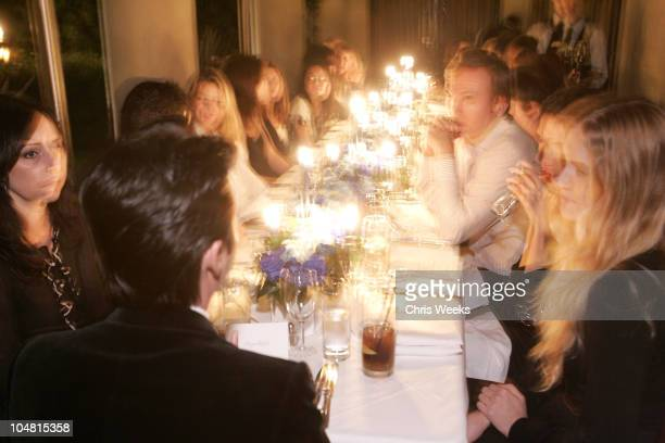 Atmosphere during Earl Jeans Hosts Private Dinner Party at the Chateau Marmont at Chateau Marmont in West Hollywood California United States