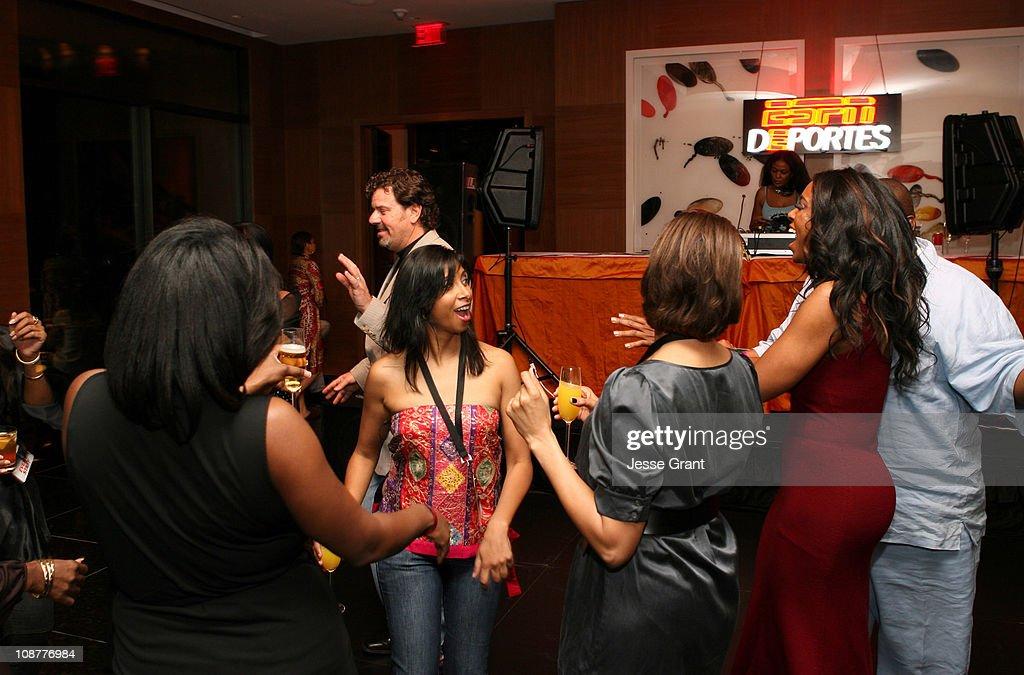 """ESPN The Magazine Presents """"ESPN After Dark"""" - Chicken 'N' Waffles II : News Photo"""