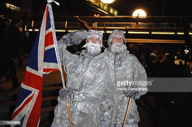 Atmosphere during Explorer Benedict Allen Opens 2006 Bankside Frost Fair at Bankside Riverwalk in London Great Britain