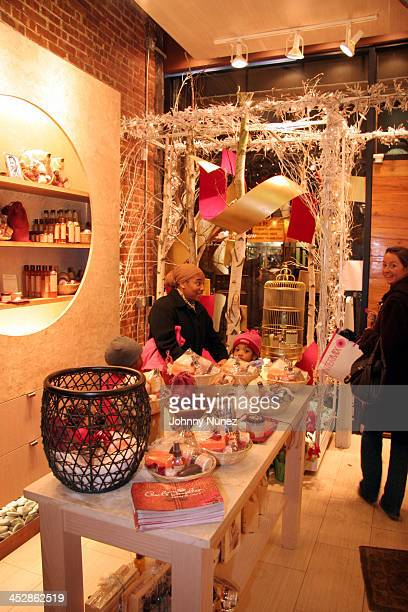 Atmosphere during Fantasia Barrino Signs Her Book Life is Not a Fairy Tale December 16 2005 at Carols Daughter Harlem Flagship Store in New York New...