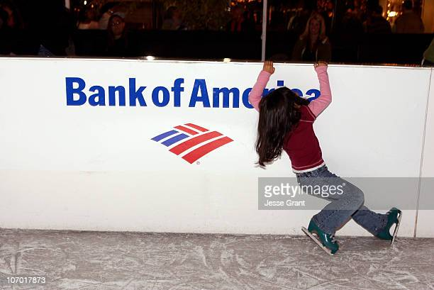 Atmosphere during Festival of Lights Ice Skating Rink Opening Hosted by Bank of America with Sasha Cohen in Honor of Habitat for Humanity at Festival...