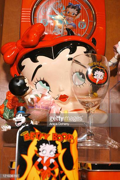 Atmosphere during First Betty Boop's Diner Opens in San Francisco in San Francisco CA United States