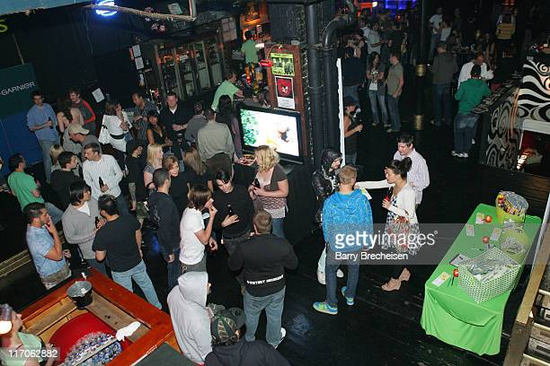 Atmosphere during Garnier Fructis Rock Your Style Hosted by Blender featuring Madina Lake at Double Door in Chicago Illinois United States
