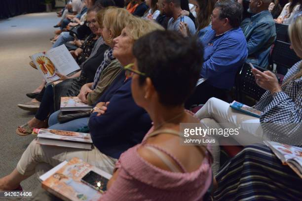 Atmosphere during Giada De Laurentiis In Conversation With Della Heiman and signing copies of her new book ' Giadas Italy My Recipes for La Dolce...