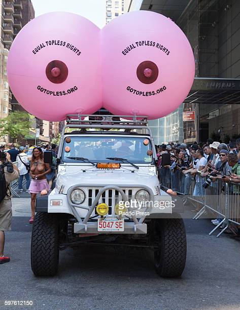 Topless Parade Stock Photos And Pictures  Getty Images-7819