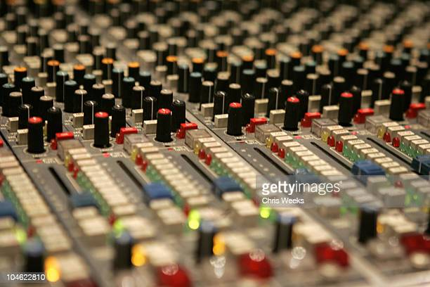 Atmosphere during GRAMMY Cultural Policy Initiative 'Advocacy Panel' at Capitol Records at Capitol Records in Hollywood California United States