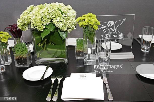 Atmosphere during Gran Centenario Tequila Heavenly Dinner at Blackbird in Chicago at Blackbird in Chicago Illinois United States