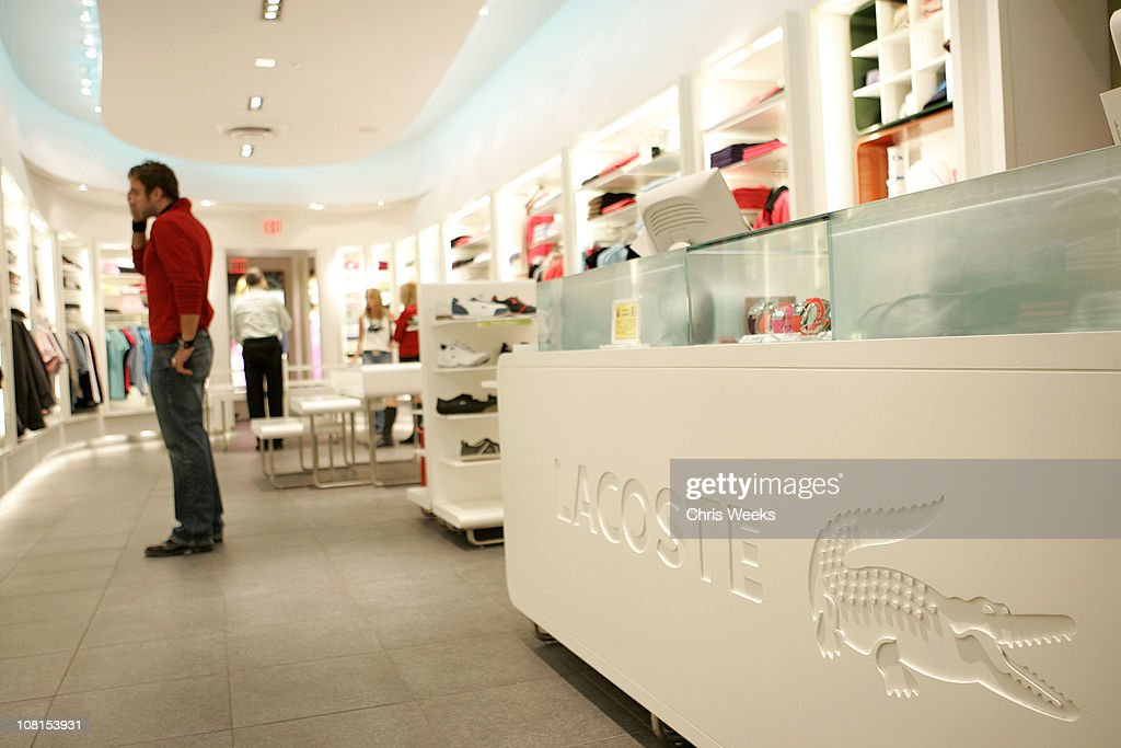 798e2b31df043b Atmosphere during Grand Reopening of Lacoste Boutique on Rodeo Drive ...