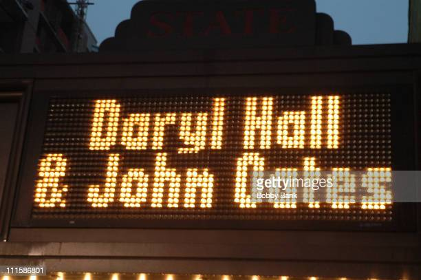Atmosphere during Hall Oates In Concert at State Theatre New Brunswick New Jersey September 5 2006 at In Concert Hall Oates in New Brunswick New...
