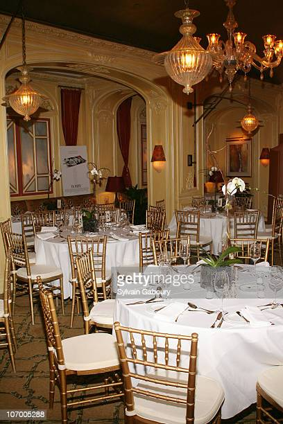 Atmosphere during Harvey Weinstein Hosts a Private Dinner and Screening of Bobby for Senators Obama and Schumer at Plaza Athenee at 37 East 64th...
