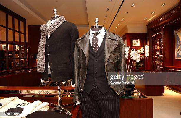 Atmosphere during Holt Renfrew Celebrates the Launch of the New Ralph Lauren Men's Shop with Rufus Wainwright October 14 2006 at Holt Renfrew in...