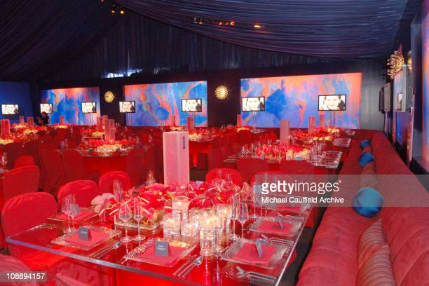 Atmosphere during InStyle & Warner Bros. 2006 Golden Globes After Party - Inside at Beverly Hilton in Beverly Hills, California, United States.