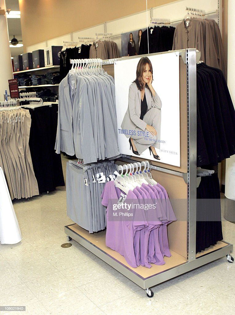 Jaclyn Smith In-Store at New Kmart