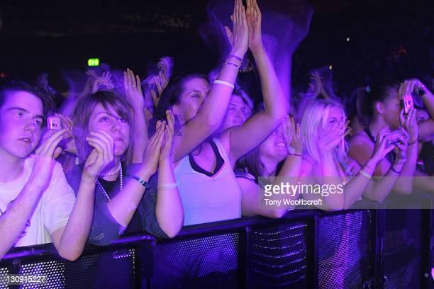Atmosphere during Jamiroquai in Concert at the Birmingham NEC Arena - September 7, 2005 at Birmingham NEC Arena in Birmingham, Great Britain.
