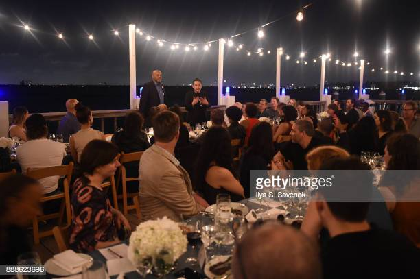 Atmosphere during Kickstarter Dinner In Honor Of Art Basel And Artist Glenn Kaino Olympian Tommie Smith At The Standard Spa Miami at The Standard Spa...