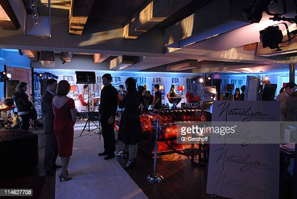 Atmosphere during Launch of Naturalizer Signature by Gretta Monahan Shoe Collection - November 15, 2006 at Soho House Library in New York City, New...
