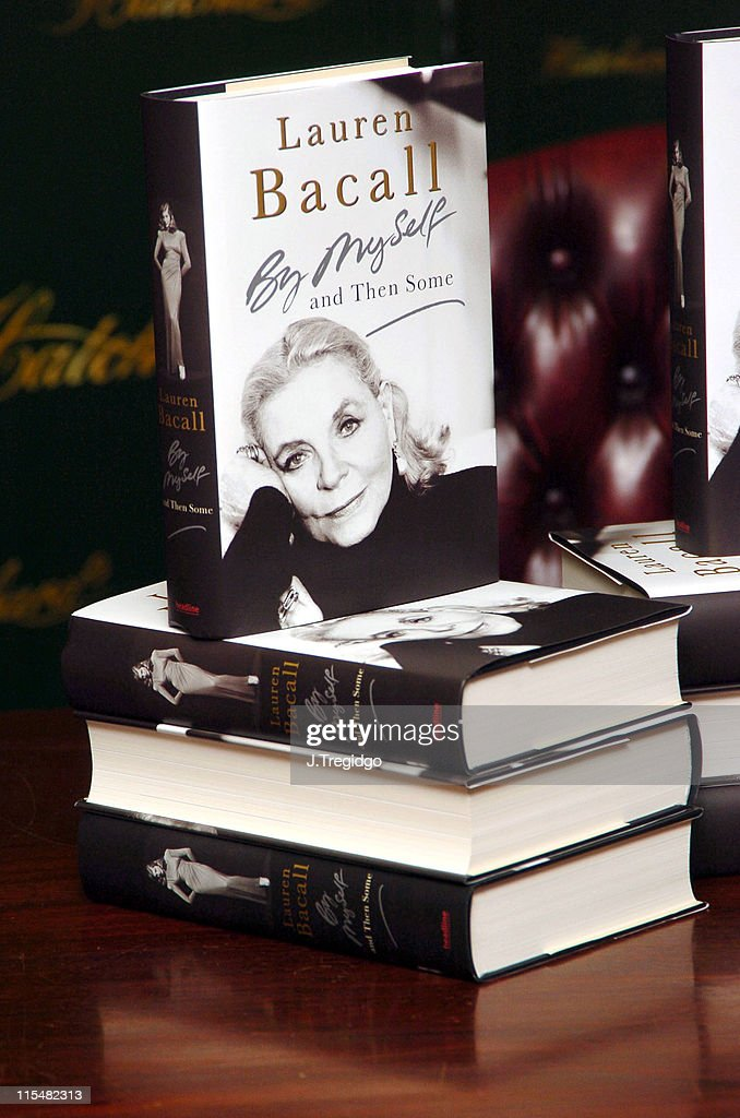 Atmosphere during Lauren Bacall Signs Her Book 'By Myself, and Then Some' at Hatchards in London at Hatchards, 187 Piccadilly in London, Great Britain.