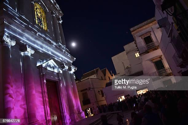 Atmosphere during Locus Festival 2016 on July 16 2016 in Locorotondo near Bari Italy