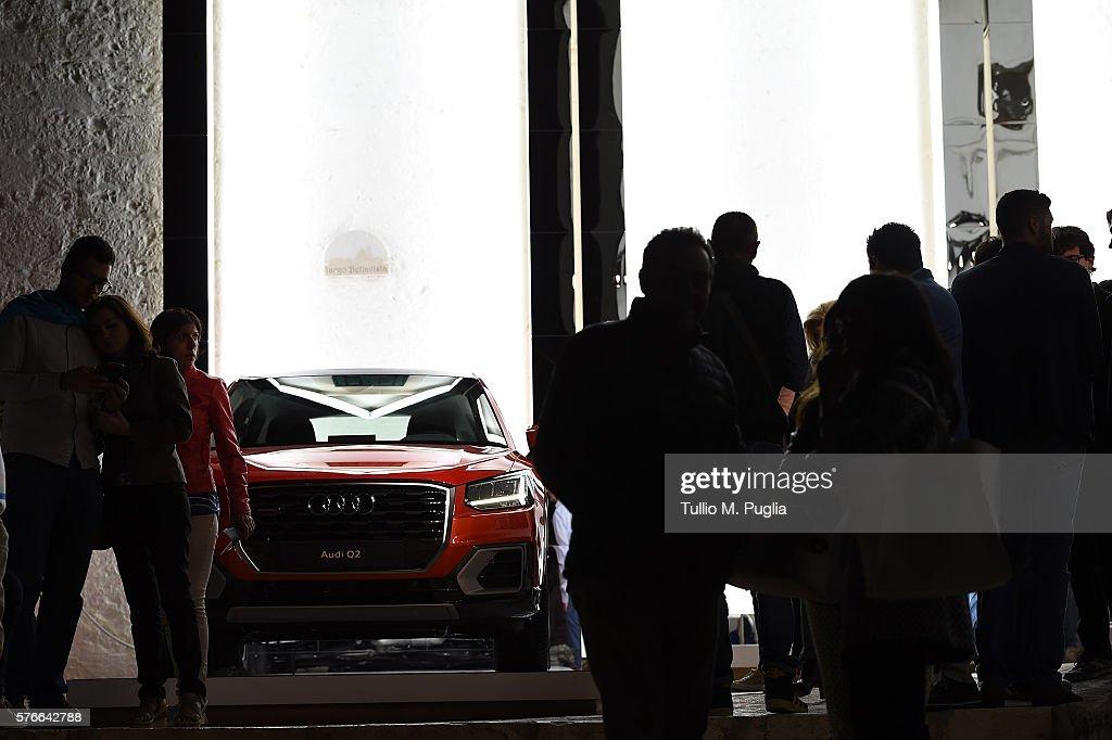Audi #Untaggable Lives  - July 16 : News Photo