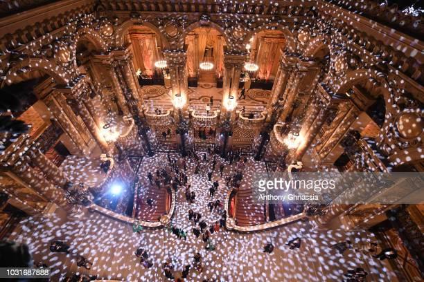 Atmosphere during Longchamp 70th Anniversary Celebration at Opera Garnier on September 11 2018 in Paris France