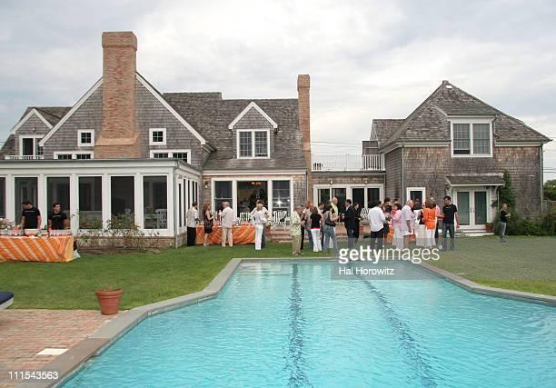Atmosphere during Lorraine Bracco's Wine Tasting Event - August 19, 2006 at 468 Butter Lane in Bridgehampton, New York, United States.