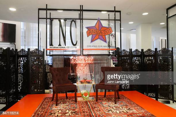 Atmosphere during Macy's celebration of the launch of Anna Sui x INC at Macy's Herald Square on September 14 2017 in New York City