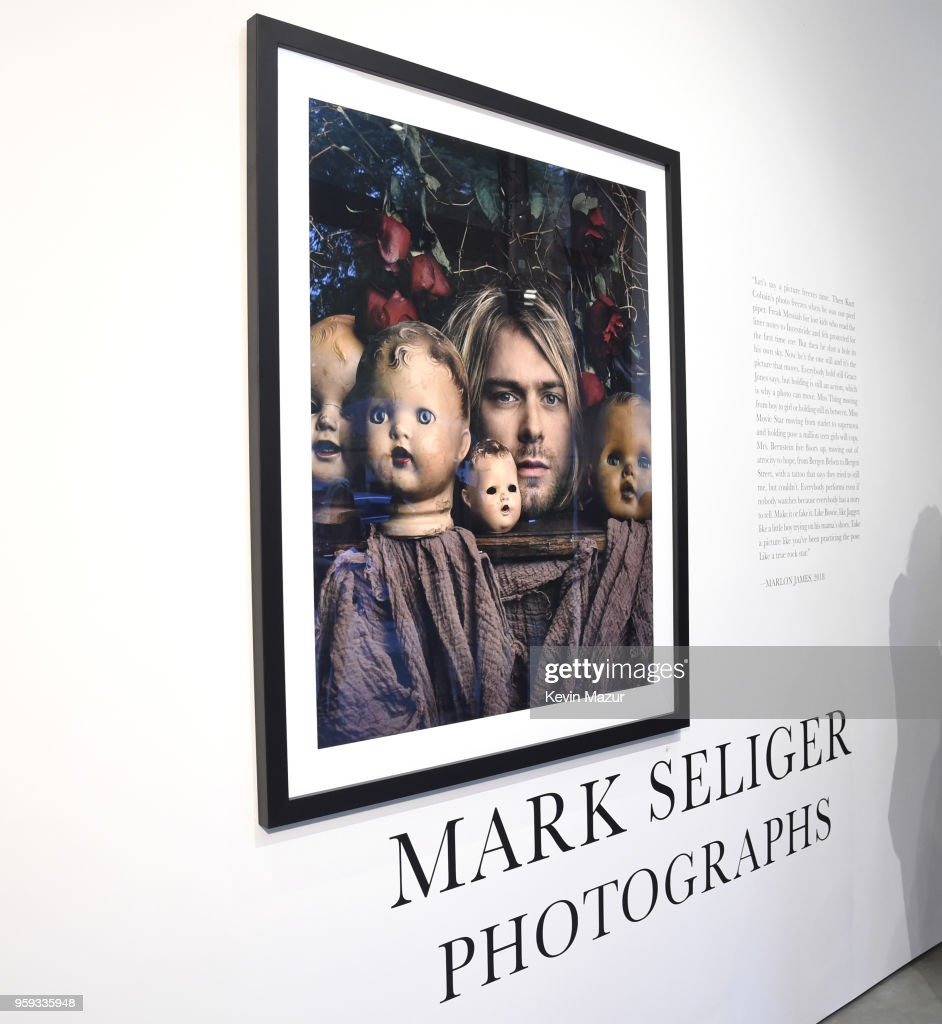 Atmosphere during Mark Seliger 'Photographs' private viewing at Chase Contemporary on May 16, 2018 in New York City.