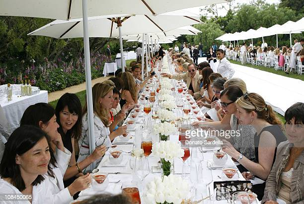 Atmosphere during MaxMara and the C.H.I.P.S Host A Luncheon Benefitting The Children's Institute Incorporated at Century Plaza in Los Angeles,...