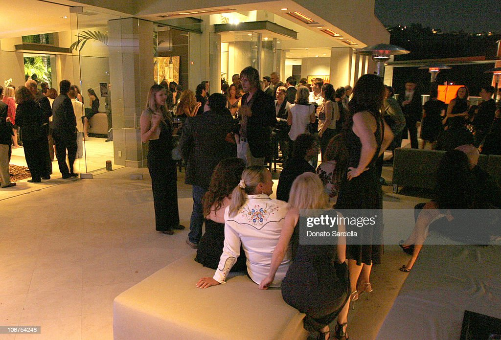 Atmosphere during Millennium Promise West Coast Launch Honoring Jeffrey Sachs at Private Home in Beverly Hills, CA, United States.