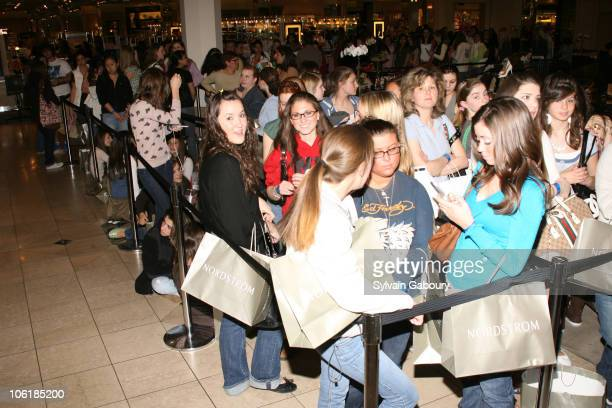 Atmosphere during Mischa Barton In-store Appearance at Nordstrom at Nordstrom at Garden State Plaza in Paramus, New Jersey, United States.