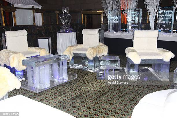 """Atmosphere during Ne-Yo's 30th Birthday Bash """"Cold As Ice"""" at Cipriani 42nd Street on October 17, 2009 in New York City."""