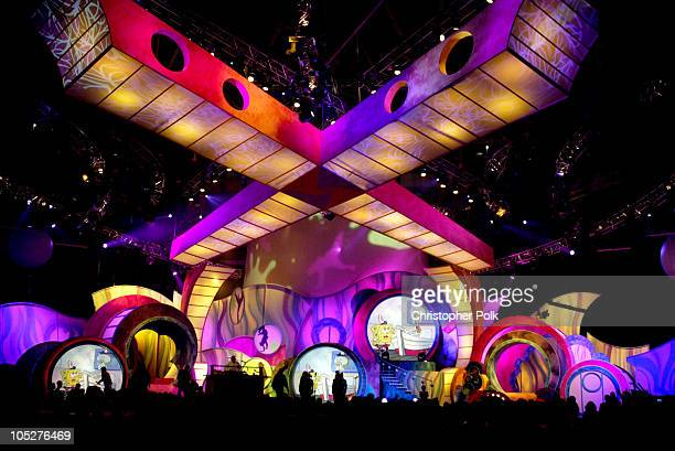 Atmosphere during Nickelodeon's 17th Annual Kids' Choice Awards Show at Pauley Pavillion in Westwood California United States