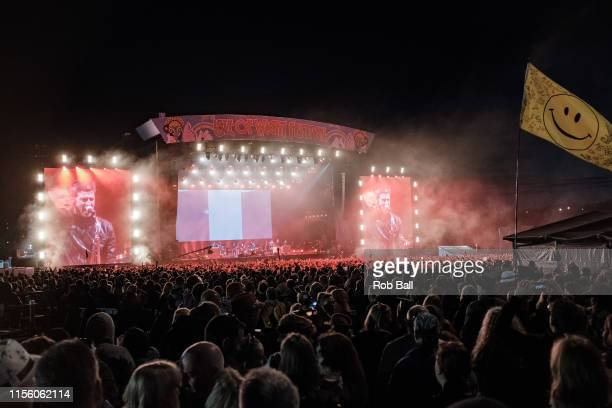 Atmosphere during Noel Gallagher at Isle of Wight Festival 2019 at Seaclose Park on June 14 2019 in Newport Isle of Wight