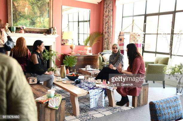 Atmosphere during Nordstrom And Anthropologie Partner To Introduce Anthropologie Home In Nordstrom Stores And Nordstromcom on March 14 2018 in New...
