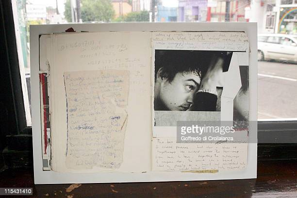Atmosphere during Pete Doherty Notes to be Sold on EBay June 21 2006 at The Boogaloo in London Great Britain