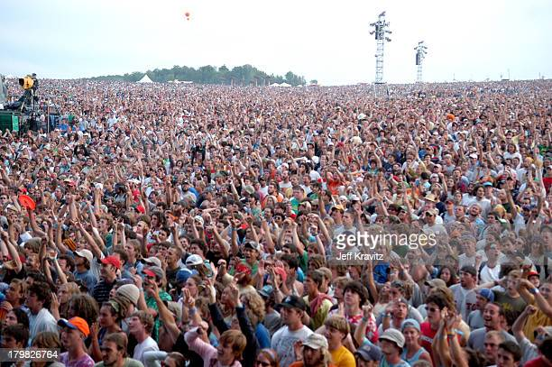 Atmosphere during Phish Coventry Festival 2004 Day 1 at Coventry in Newport Vermont United States