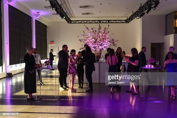 Atmosphere during Planned Parenthood of New York City Spring Gala honoring Cecile Richards and Laverne Cox at Spring Studios on May 1 2018 in New...