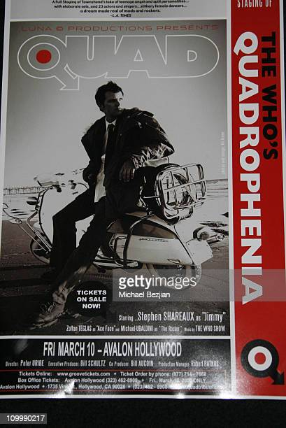 Atmosphere during Quadrophenia Musical Theatre Performance at The Avalon in Hollywood California United States