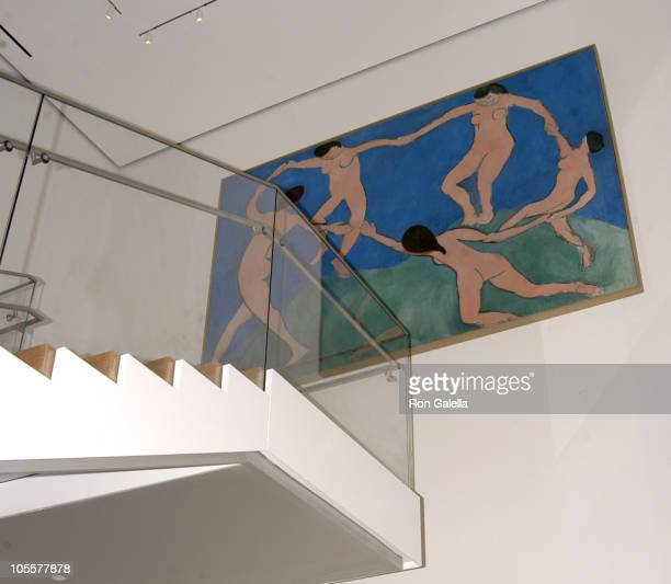 Atmosphere during ReOpening Of The Museum Of Modern Art In Midtown Manhattan at Museum of Modern Art in New York City New York United States