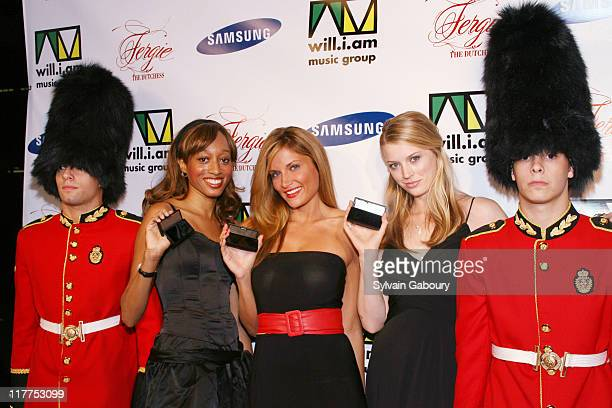 """Atmosphere during Samsung Celebrates Release of the K5MP3 Player and Fergie's Debut Album """"The Dutchess"""" at Tenjune in New York, NY, United States."""