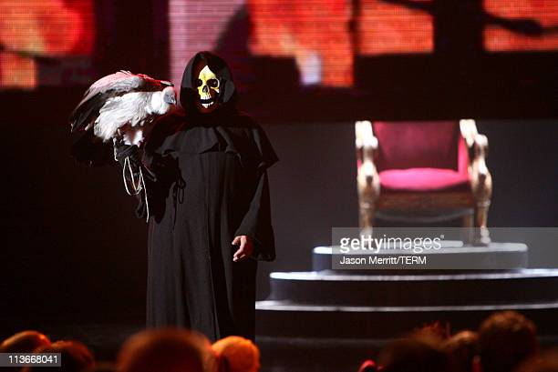 Atmosphere during Spike TV's Scream Awards 2006 Show at Pantages Theater in Hollywood California United States