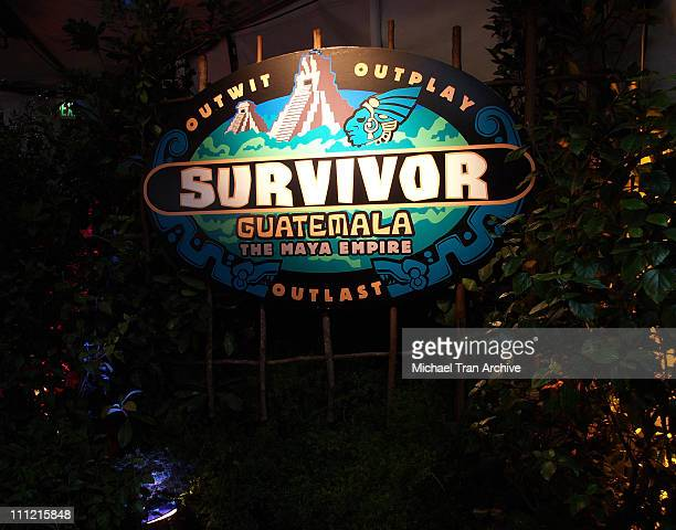 """Atmosphere during """"Survivor: Guatemala - The Maya Empire"""" Series Finale - Arrivals at CBS Studios in Los Angeles, California, United States."""