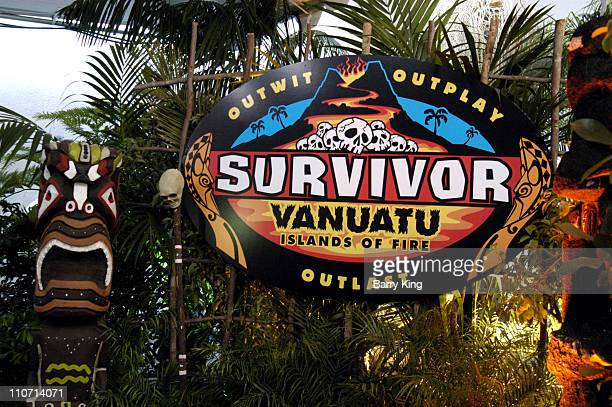 "Atmosphere during ""Survivor: Vanuatu - Island of Fire"" - The Reunion Finale Revealing of the Sole Survivor - Arrivals at CBS Television City in Los..."