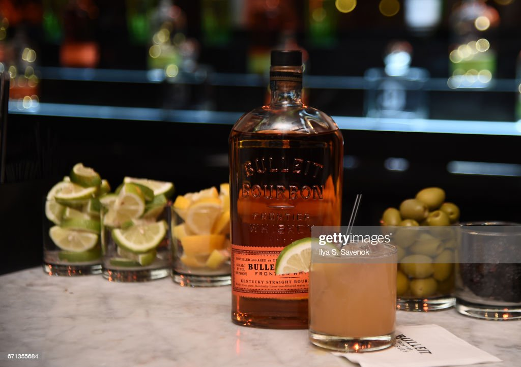 2017 Tribeca Film Festival After Party For One Percent More Humid Sponsored By Bulleit Bourbon At The Chester : News Photo