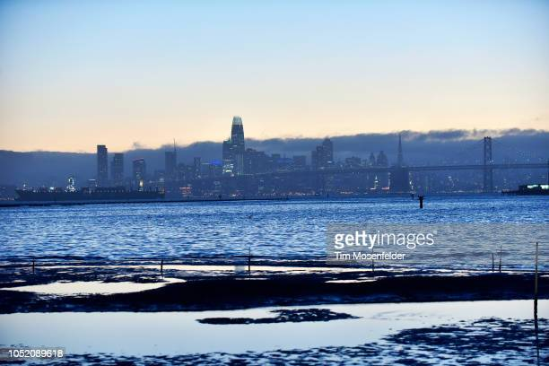 Atmosphere during the 2018 Treasure Island Music festival at Middle Harbor Shoreline Park on October 13 2018 in Oakland California