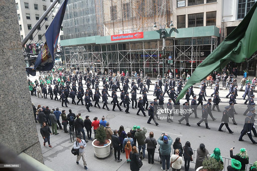 254th Annual St. Patrick's Day Parade : News Photo